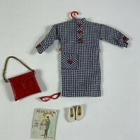 Vintage Tammy #9172-8 Travel Along outfit clothes for doll AS IS (broke glasses)