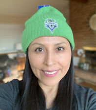 Seattle Sounders MLS Soccer Knit Hat Stocking Cap Cuffed Beanie