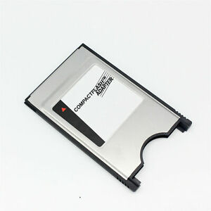 PCMCIA TO CF CompactFlash Card - Laptop CF TO PC Adapter Reader Converter