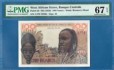 West African States, 100 Francs, 1959, Super Gem UNC-PMG67EPQ, P2b
