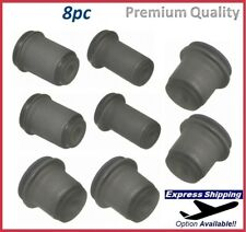 Premium Control Arm Bushing Front Upper+ Lower For GMC CADILLAC Kit K6395 K6329