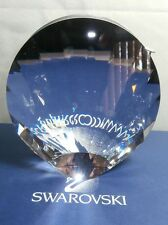 SWAROVSKI SILVER CRYSTAL SHELL VASE 2005 NOW RETIRED  719220 MINT IN BOX