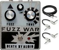 New Death By Audio Fuzz War Guitar Effects Pedal w/ Cables