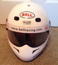 Bell X-15 Full Face Racing Helmet-Medium-White