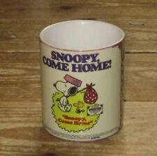 Snoopy Viene Casa Pellicola pubblicità TAZZA