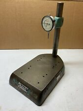 Federal Gage Comparator Stand 12 Post Starrett Indicator No 645 441 001