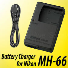 MH-66 Battery Charger for Nikon EN-EL19 COOLPIX S4300 S3300 S2600 S100 S4150