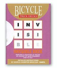 Blue Invisible Deck Bicycle Playing Cards Daryl Mind Magic Trick Gaff Mentalism