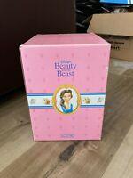 Disney Schmid Beauty and The Beast MRS POTTS CERAMIC TEA POT MUSIC BOX