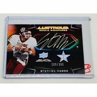 NFL STEPHEN MCGEE AUTOGRAPHED 2009 UPPER DECK BLACK ILUSTROUS ROOKIE /399 MNT