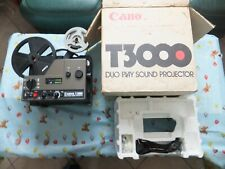 projecteur super 8 mm sonore canon T3000 duo play sound