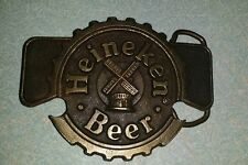 Bottle / Can opener,  VINTAGE 1970s **HEINEKEN BEER** BELT BUCKLE windmill