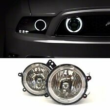 2005-2009 Ford Mustang GT Hood Grille Clear Halo Fog Lights Lamps Pair+Switch
