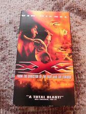 Xxx Vin Diesel, 2002 (Vhs), Hollywood Video Vintage Media Rental