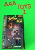 X-Men Classics PSYLOCKE w/ Light-up Weapon Marvel Comics Action Figure MOC