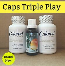 Calorad Caps (MG) Triple Play/ 2 Caps & 1 Agrisept / As Seen on TV / Free S&H