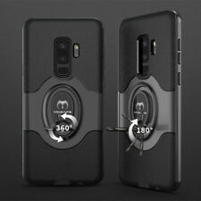 For Samsung Galaxy S9/S8 Plus Note 9 8 Ring Holder Shockproof Bumper Case Cover