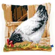 Grey Hen - Vervaco Large Holed Tapestry Cushion Kit - PN-0148109