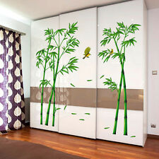 Wandsticker Wandtattoo Wand Aufkleber Bambus Bamboos Vogel Wohnzimmer Home Deko