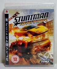 SONY PS3 EUROPEAN REGION 2 STUNTMAN IGNITION 100% COMPLETE VIDEO GAME