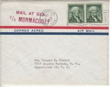 1954 Liberty in Canal Zone Ship Mail.