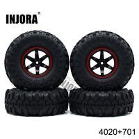 """4PCS 110mm Super Swamper Tires 1/10 RC Crawler Tyres w/foam & 1.9"""" Wheels Rims"""