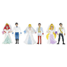 Magiclip Dolls WEDDING Collection Ariel Cinderella Rapunzel Disney Princess Toys