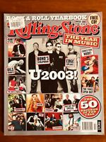 ROLLING STONE YEARBOOK 02/03 Silverchair, The White Stripes, Kurt Cobain Pink U2