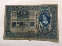 Billet Autriche 1000 Kronen 1902