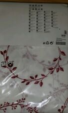IKEA VINTER 2016 Curtains Red White Ivy Christmas Winter Holiday Design