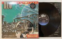 REO Speedwagon - Wheels Are Turnin LP Epic QE 39593 w/inner sleeve VG+ Shrink