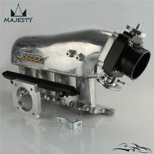 Intake Manifold+ throttle body +Fuel Rail For Mitsubishi Lancer 4G63 EVO 4-9 BK