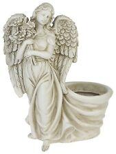 Garten Deko Figur Eden Engel als Blumentopf Übertopf Engelfigur Statue Grabdeko