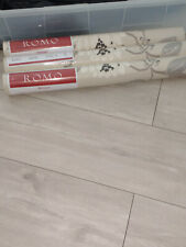 3 rolls of ROMO Kimura floral wallpaper Linen Colour - W205-01 . Brand new