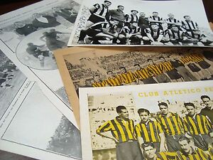 Soccer Football Uruguay Peñarol Club poster photos Souvenir original ca 1950
