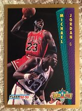 1992-93 Fleer Tony's Pizza Michael Jordan Slam Dunk Card