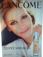 """AFFICHE  POSTER  GEANT   """" LANCOME TEINT  MIRACLE  """"  180x120  TBE  NON  PLIEE"""