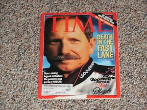 TIME magazine-March5, 2001 Dale Earnhardt-Death in the Fast Lane 1951-2001