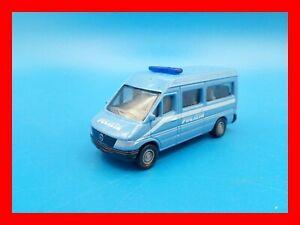 SIKU n. 0804 0805 MERCEDES SPRINTER POLIZIA POLICE CAR