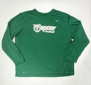 Nike Rocky Mountain College Football Legend Poly Top Shirt Men's L Green 727980