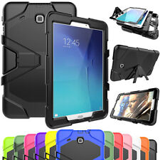 Hybrid Armor Rugged Rubber Stand Case Cover For Samsung Galaxy Tab A 7.0 T280