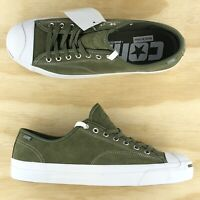 Converse Jack Purcell Pro Signature Cons Green White Casual Shoes 161522C Sz 11