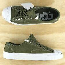 Converse Jack Purcell Pro Signature Cons Green White Shoes 161522C Size 11.5