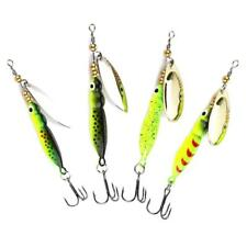 1pcs Spinner Baits Fishing Lures 9cm Spinnerbait Trout Environmental Prot Prof