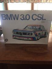Entex BMW 3.5CSL 1/12 Scale Model Kit # 9030. 3.0 CSL Otaki Reissue Race Vers