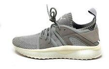 Puma Mens Tsugi Blaze Evoknit Trainer Shoes Grey Birch White Size 9 M US