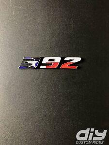 392 Fender Emblem Insert Decals L&R TEXAS FLAG Fits Dodge Challenger Charger 300