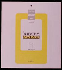 Scott/Prinz Pre-Cut Souvenir Sheets Small Panes Stamp Mounts 223x187 #1006 Black