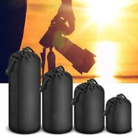 1Pc Neoprene Camera Lens Pouch Soft Bag Case Protector For Canon Nikon Sony DSLR