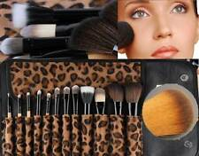 Makeup Brushes Set 12 Pcs Kit CosmeticTool Loepard Bag Beauty Eyeshadow Eyeliner